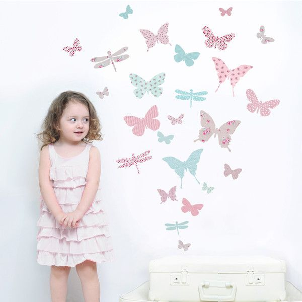 Butterfly wall stickers childrens