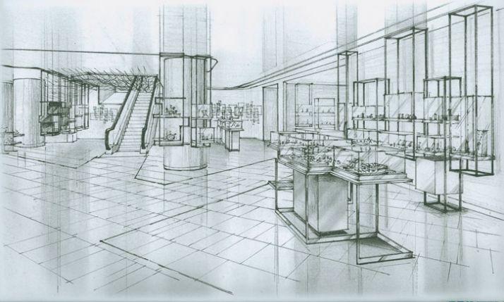 The redesigning of Le Printemps by Yabu Pushelberg   Yatzer