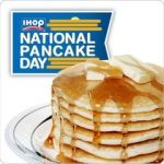 It's official! The date for IHOP's next National Pancake Day is Tuesday, March 4, 2014!