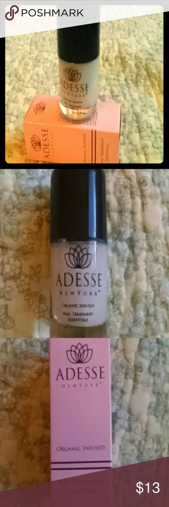 NEW Full-size? organic nail treatment from Adesse Unopened, still in box Makeup