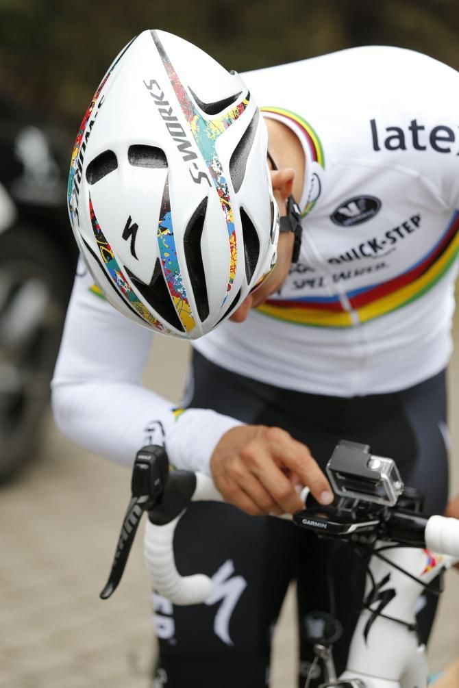Michael Kwiatkowski S New Specialized Evade Helmet Photo