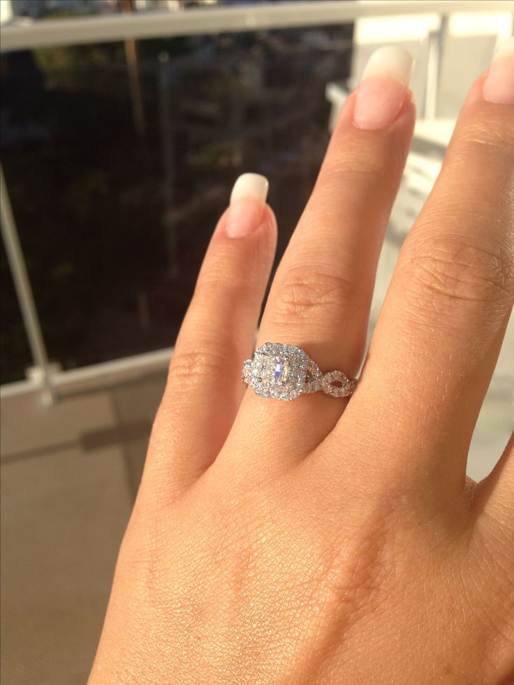 eeek still in awe of my engagement ring i 39 m so lucky loved blessed and spoilt vera wang. Black Bedroom Furniture Sets. Home Design Ideas