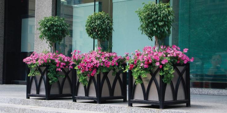 Beautiful Custom Planters #maglin #maglinsitefurniture