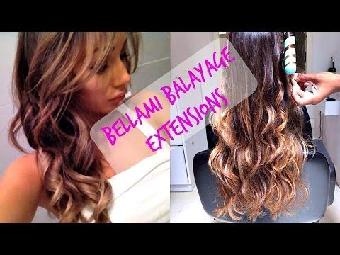 Bellami Balayage Hair Extensions (Update)! - YouTube love this one