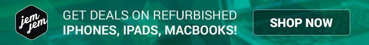 JemJem Refurbished Iphones Ipads and Macbooks