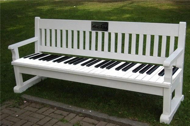 #piano #bench #music