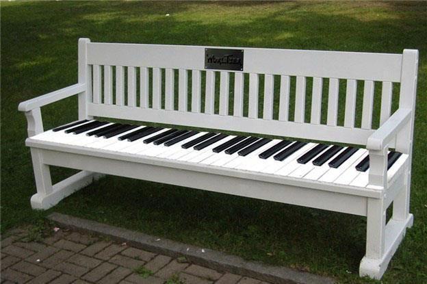#piano #bench #music