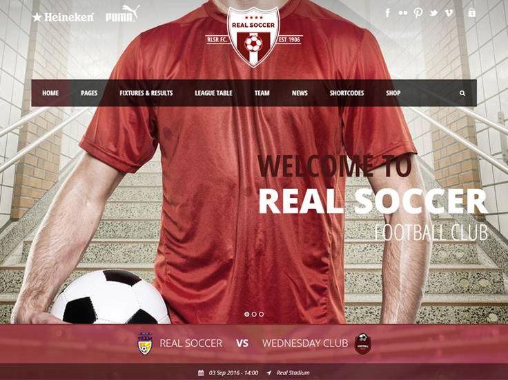 101 mejores ideas en Sports WordPress Themes en Pinterest | Tema de ...