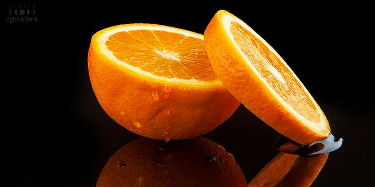 Juicy, Fresh, Orange. Photography by Aleksander Hadji.  www.light-n-dark.com