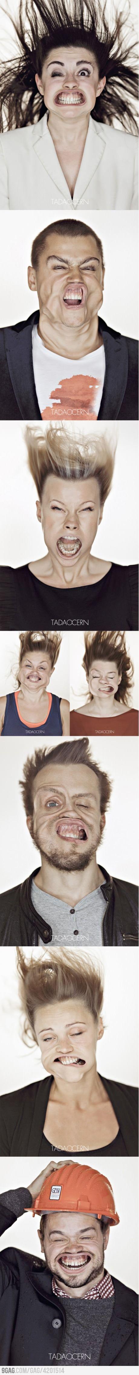 Strong wind = hilarious photos