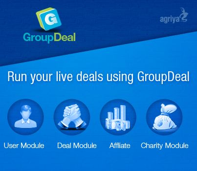 @Agriya Set up your online business with GroupDeal- groupon clone  http://grouponclone.quora.com/