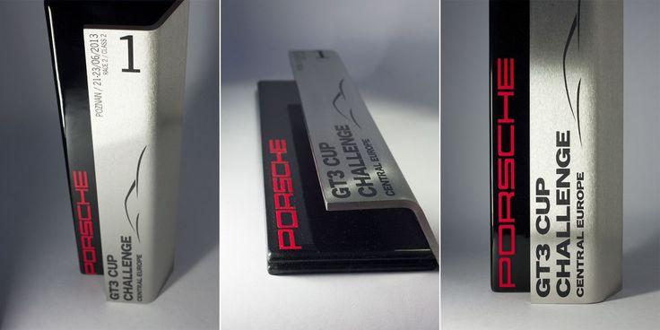 Bespoke Glass Award for Porsche - PORSCHE GT3 Cup CCE 2013