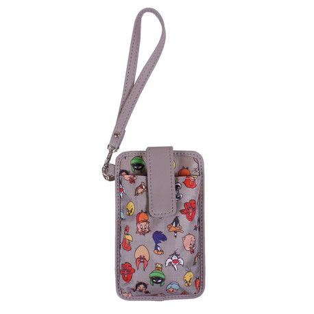 Mobile holder with Looney Tunes cartoons characters.