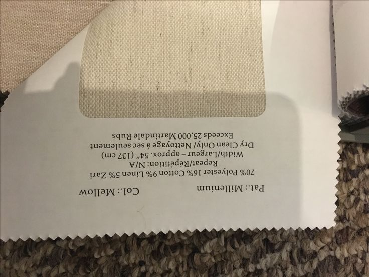information about the material used on the sofa