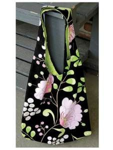 Reversible Summer Hobo Bag PDF Sewing Pattern