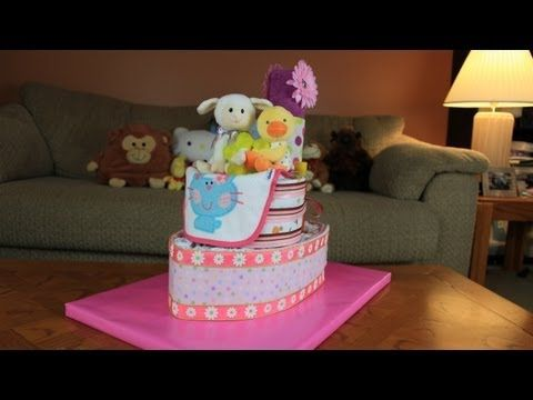 Tug Boat Diaper Cake (How To Make) - YouTube
