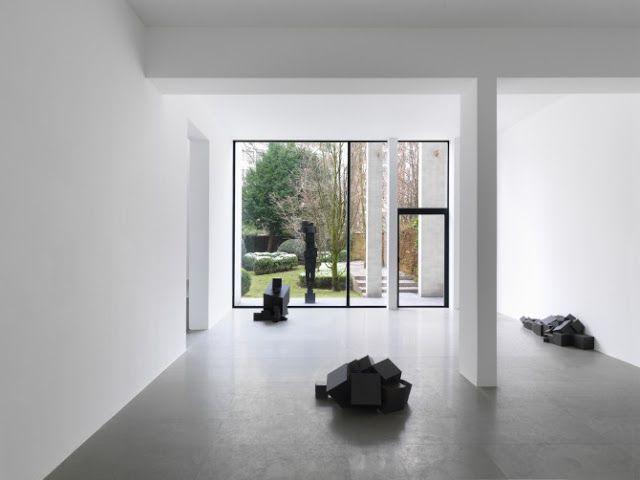 Antony Gormley at Xavier Hufkens Gallery http://mymagicalattic.blogspot.com/2013/04/antony-gormley-at-xavier-hufkens-gallery.html