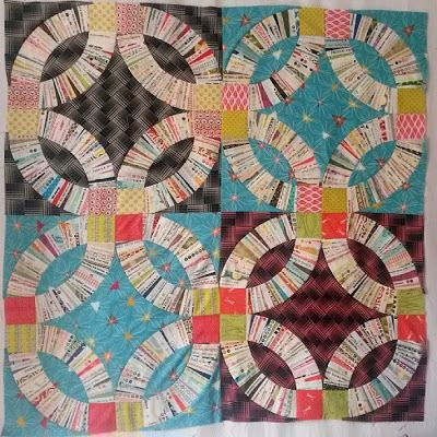 The 25 best Wedding ring quilt ideas on Pinterest Double