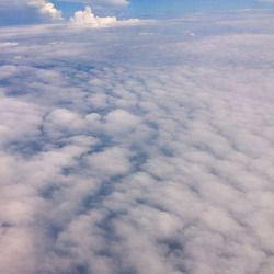 #fluffy #cloud #viewfromabove