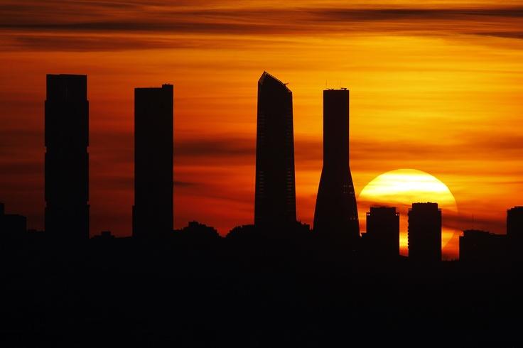 Atardecer en Madrid (fotografía de Javier Fernández-Largo)