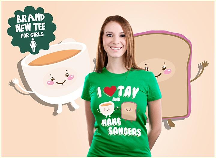 I Love Tay & Hang Sandwiches