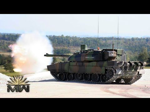 AMX Leclerc - French Main Battle Tank [Review] - YouTube
