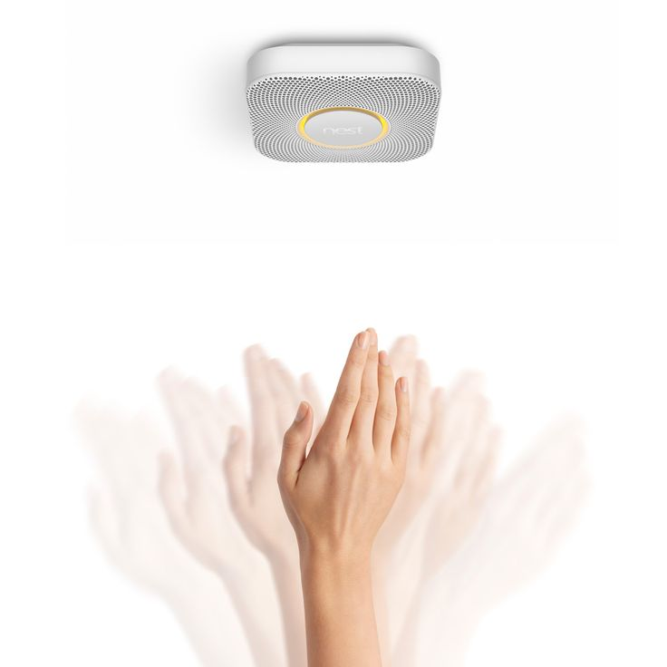 Wave to hush the Nest Protect smoke and carbon monoxide alarm  Could be a good gift idea for people who have everything already. It's original and I would consider it really thoughtful if someone gifted me something to help protect my family. What do you think? Great gift or weird gift?