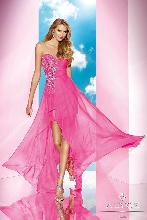 Mejores 156 imágenes de Pink Prom en Pinterest | Vestido de baile de ...