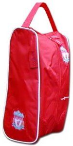 Liverpool FC Bootbag by Liverpool F.C.. $13.42. Liverpool FC Boot Bag - This official Liverpool FC boot bag measures 20cm x 36cm x 13cm and is available for immediate delivery. Code: RUCK18