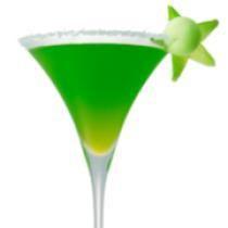 "Grinch: Grinch (image source: <a href=""http://cocktails.about.com/od/vodkadrinkrecipes/r/melonballdrop.htm"">Midori Melon Ball Drop</a>)"