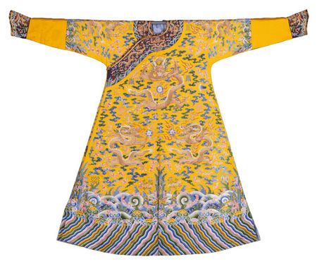 Emperor's Dragon Robe, ca. 1736-1795. Palace Museum, Beijing.