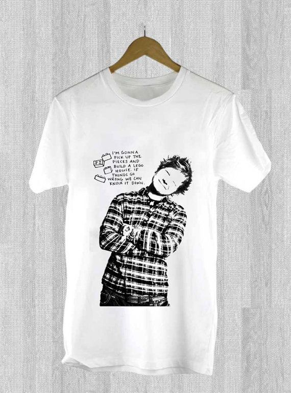 ed sheeran lyrics design for t shirt mens and t shirt. Black Bedroom Furniture Sets. Home Design Ideas