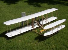 1903 WRIGHT FLYER RC BALSA MODEL AIRPLANE KIT BY DARE DESIGN * just love it!
