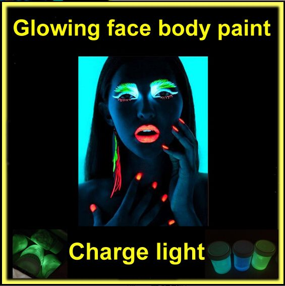 Cheap glow leggings, Buy Quality glow in the dark plugs directly from China light snowfall Suppliers:                                                                                    Halloween Neon Face Paint