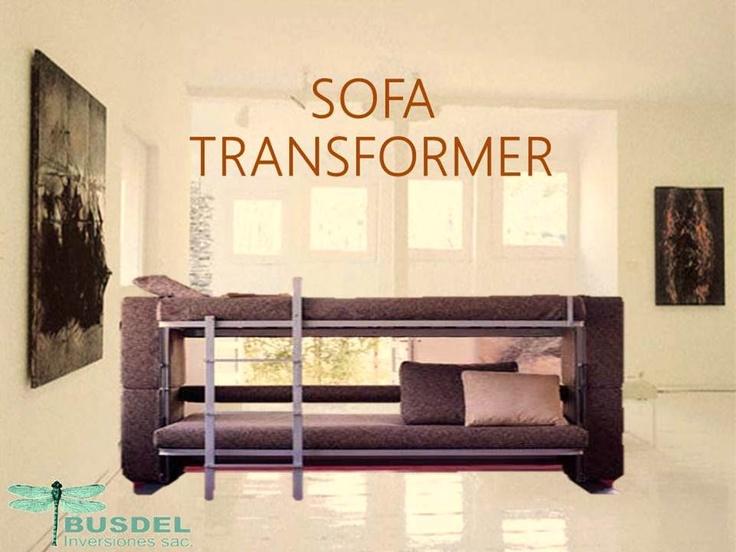 Sof transformer ideal para recibir a las visitas sin for Sofa 70 cm profundidad