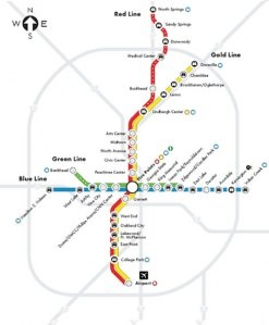 Best Atlanta Images On Pinterest Atlanta Georgia Atlanta And - Atlanta to nashville rail on map of us