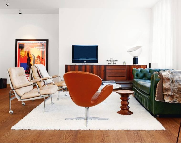 Chesterfield and Mid Century Mix