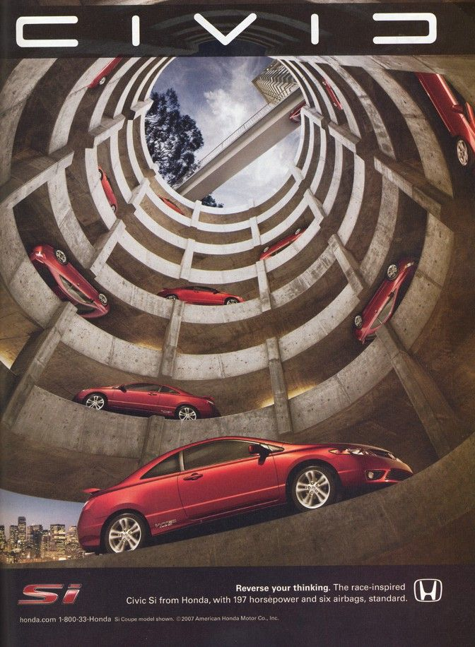 #woodwheatonhonda takes the @Honda civic to new heights.