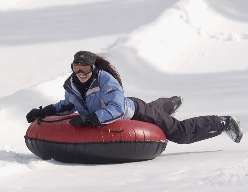 Quebec, Canada winter activities snow tubing!  @Kelsey Renee ....you ready???  :-)