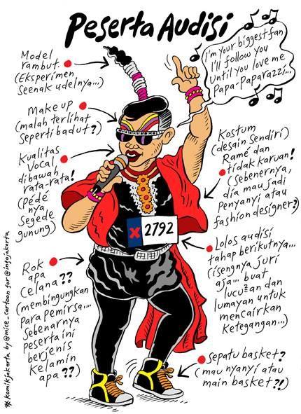 Mice Cartoon: Peserta Audisi (@info jakarta)
