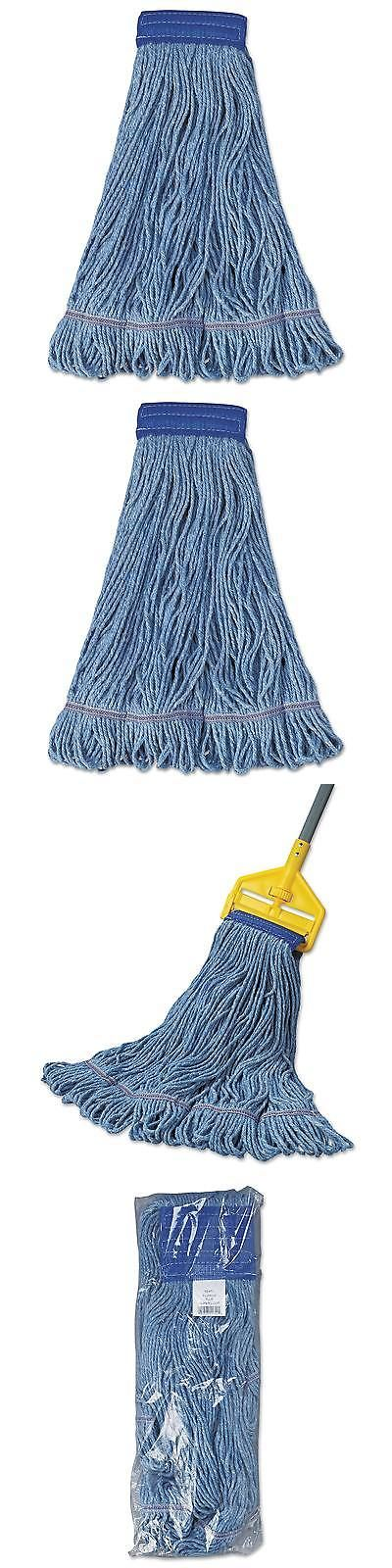 Mops and Brooms 20607: Boardwalk Mop Head Super Loop Head Cotton Synthetic Fiber X-Large Blue 12 Carton -> BUY IT NOW ONLY: $201.99 on eBay!