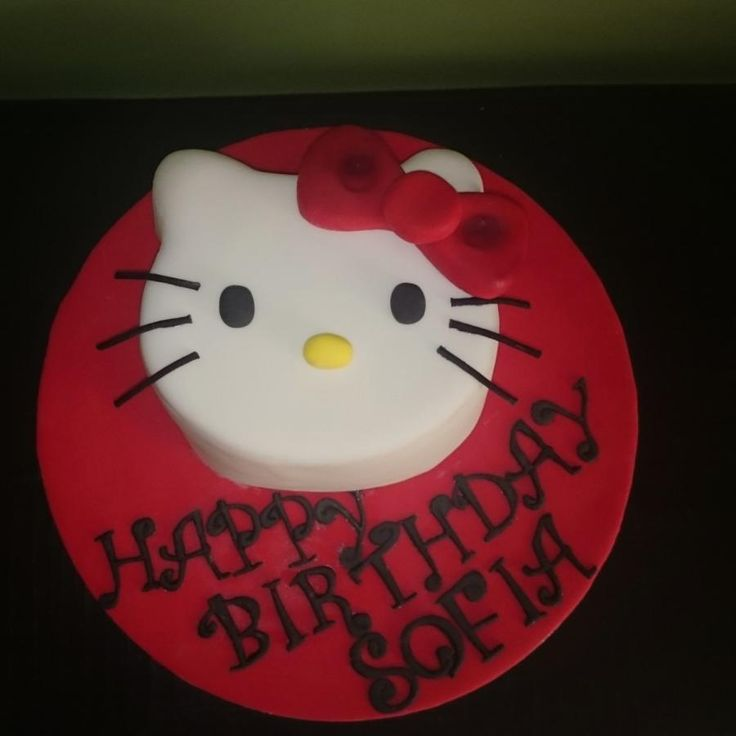 Hello Kitty - Cake by nef_cake_deco