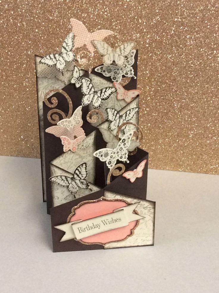 Sharyn's Inspirational Cards: Zig Zag Card