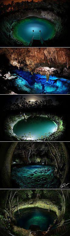 Таинственные подводные пещеры — Наука и жизнь