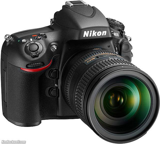 The newest Nikon...D800 ~ placing this on my wish list!