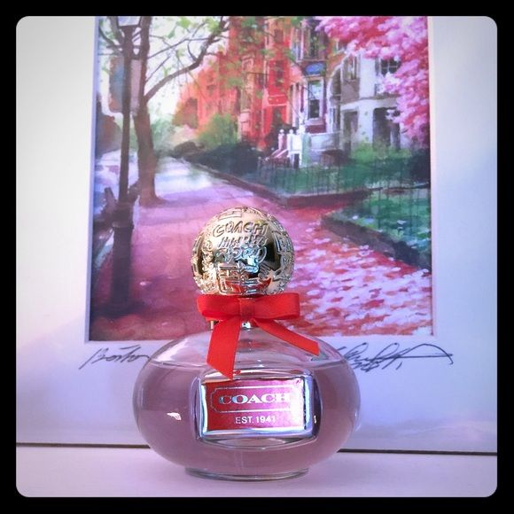 COACH Poppy perfume Authentic Coach perfume. Such a nice scent. Mostly full  Coach  Other