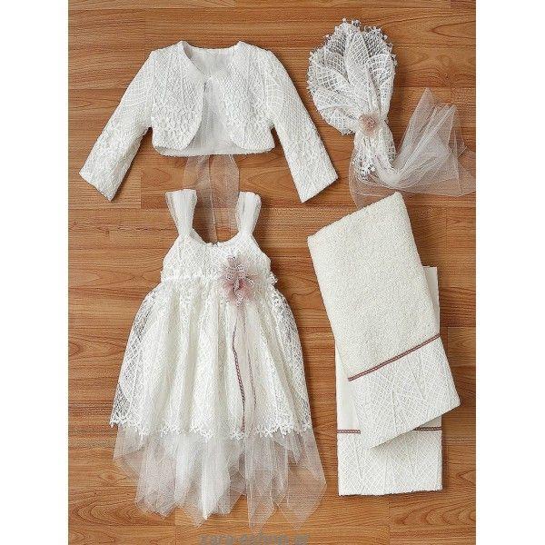 2d0ae34a0f65 Φορεματάκι βαπτιστικό επώνυμο και οικονομικό από τούλι με επικάλυψη  δαντέλας, Βαπτιστικά ρούχα κορίτσι οικονομικά,