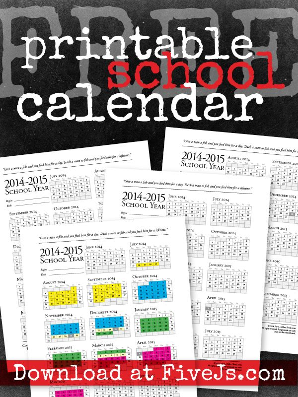 I was asked more than once this week when I was going to post my 2014-2015 printable school calendar, so I sat down and finally created it! I still haven't figured out exactly how we're doing our school year next year, so I've not included an example of our next school year calendar. But I …