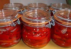 Pepers inmaken in azijn