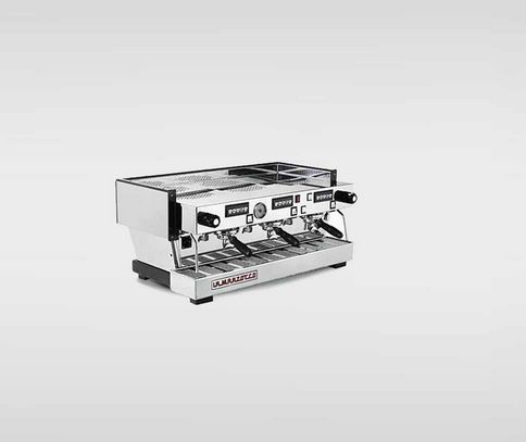 La Marzocco Linea - $10,945.00  This product has the following features:  Dual Boiler: seperate boilers optimiseespresso brewing and stem production  Saturated Group Heads: ensure unsurpassed thermal stability, shot after shot  Digital Displays: intiative programming make it easy to adjust macine parameters